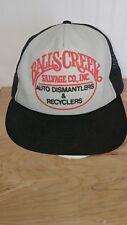 Balls Creek Auto salvage super Hipster Snapback Mesh auto dismantler country BB