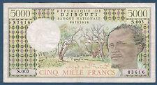 DJIBOUTI - 500 FRANCS BANQUE NATIONALE Pick n° 38 . de 1979. en TTB  S.003