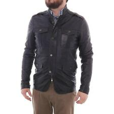 Leather Basic Coats for Men
