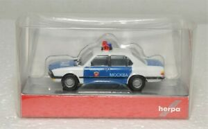 HO HERPA 049924 BMW 528I POLICE MOSCOW USSR 1/87