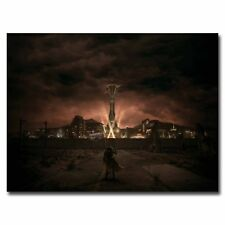 Fallout New Vegas 24x32inch Video Game Silk Poster Large Size Room Decoration