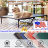 VEEHOO Elevated Dog Cat Bed Pet Cot Raised Lounger Hammock for Indoor & Outdoor