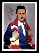Werner ipta Autograph FC Schalke 04 Player 60er Years Original Signed