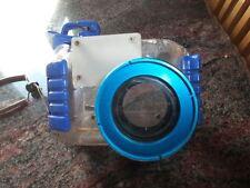 Custodia subacquea macchina fotografica canon adattabile a vari modelli 45 mt.