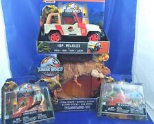 Jurassic Park Lot Dr. Alan Grant, Robert Muldoon, Jeep Wrangler & Chompin Trex