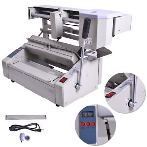 New! 110V Hot Melt Glue Book Binder Perfect Binding Machine Applicator Handle