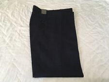 PURE WOOL BY JOHN LEWIS MEN SUIT TROUSER POW CHECK BLU SIZE 30R RRP £80 NEW