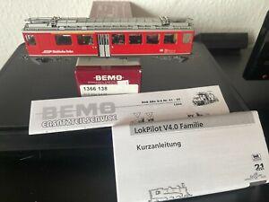 Bemo 1366 138 Bernina-Triebwagen RhB ABe 4/4 48  NEU + OVP