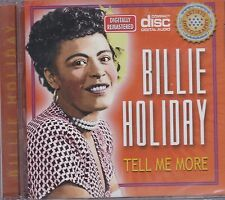 BILLIE HOLIDAY - TELL ME MORE - CD -  NEW -