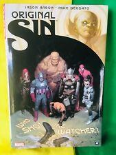 Marvel Original Sin: Who Shot the Watcher? Hardcover Graphic Novel