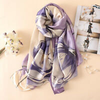 Ladies Luxury Sunscreen Silk Scarf  Long Wrap Shawl Scarves Neck Wrap Hot 889