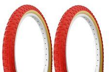 "1-24x2.125/"" RED BEACH CRUISER GOODYEAR TREAD BIKE BICYCLE DURO TIRE #262818"