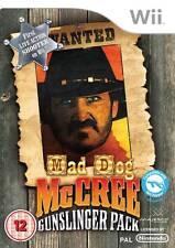 Mad Dog McCree: Gunslinger Pack Nintendo Wii PAL Brand New
