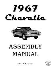 1967 Chevelle El Camino Assembly Manual 67