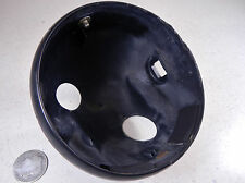 79 YAMAHA DT125 ENDURO HEADLIGHT HEAD LIGHT LAMP BUCKET HOUSING