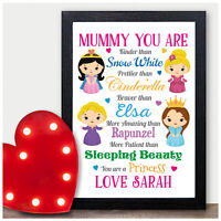 PERSONALISED Birthday Gifts for MUMMY NANNY NAN NANNA GRANNY Princess Present
