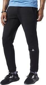 Reebok Workout Ready Fleece Mens Training Pants - Black