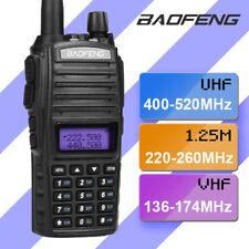 Baofeng Uv-82X3 Tri-Band 1.25meter Vhf/Uhf Dual Ptt Ham Amateur Two way Radio