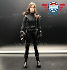 Custom 1/6 Scarlett Johansson Black Widow Avengers COMPLETE FULL Figure Set