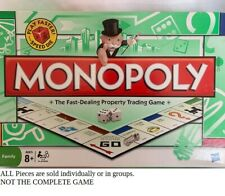 U-PICK MONOPOLY Replacement Property Cards Tokens Money Hotels Dice 2008 choose
