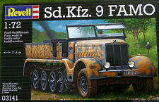 Sd.Kfz. 9 Famo 1/72 Scale Revell Kit 3141