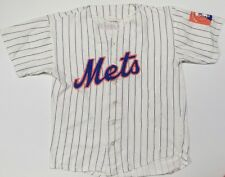 Vtg 1964 Worlds Fair New York Mets Delta MLB  Promo Baseball Jersey Mens Sz XL