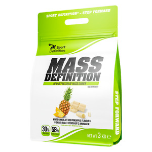 SPORT DEFINITION Mass Definition (Mass Gainer) 3kg FREE SHIPPING