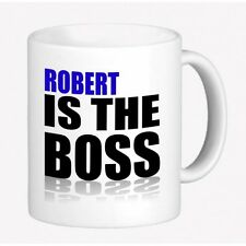 PERSONALIZED NAME COLLECTIBLE MUG - ROBERT