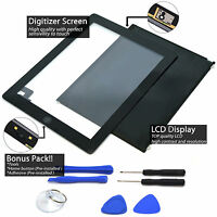 LCD+ Touch Screen Digitizer Replacement For Apple iPad 2 A1395 A1396 A1397 Lot