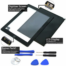 LCD Touch Screen Digitizer Replacement For Apple iPad 2 A1395 A1396 A1397 Lot