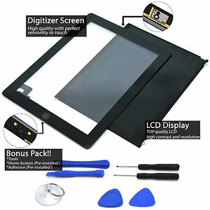 LCD Touch Screen Digitizer Replacement For Apple iPad 2/ 5/ Air 1/Mini 1 2 3 Lot