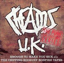 Chaos UK - Enough to Make You Sick/The Chipping Sodbury Bonfire Tapes (CD, 1993)