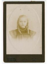 GIRL W/ NECKLACE BY ROSSBACH, JERSEY CITY, N.J., CABINET PHOTO
