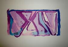 BRAM VAN VELDE Lithographie originale sur velin signée art abstrait cobra 1970
