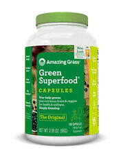 Amazing Grass Green SuperFood Original 150 capsules - Alkalizing & Energizing