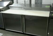 "Used Silver King Skpz60 60"" Refrigerated Pizza prep Table"