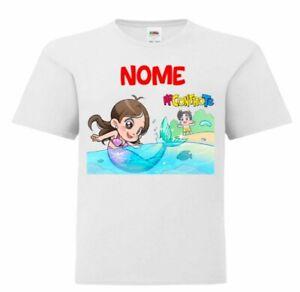 Tshirt Maglia Me Maglietta Contro Bambina Te Bambino Lui e Sofi Kira Ray