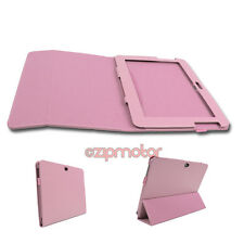 CASE COVER STAND FOLD PU LEATHER PINK SAMSUNG GALAXY NOTE 10.1 N8000 N8010 N8020