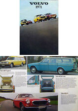 Volvo Range 142 144 145 164 1800 E 1970-71 Original UK Brochure No RSP 50104