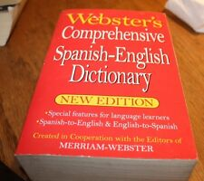 Websters Comprehensive Spanish-English Dictonary
