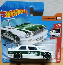 Hot Wheels 2020 HW Rescue #207 1992 '92 BMW e30 M3 Coupe White POLIZEI Police