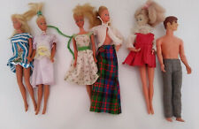 Barbie Dolls Japan 1965 Talking Ken Ideal & Hasbro Mixed Lot with clothes