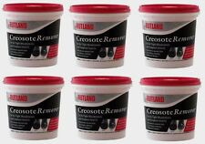 6 #98 RUTLAND 2lb Dry Creosote Remover Chimney Treatmnt WoodStove Fireplace