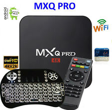 MXQ Pro 4K Amlogic S905X Android 6 Quad-Core WiFi Smart TV Box 8GB + Backlight