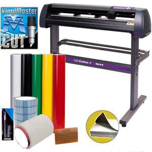 """34"""" USCutter Vinyl Cutter / Plotter, Sign Cutting Machine w/Software + Supplies"""