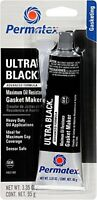 Permatex 82180 UltraBlackMaximumOilResistanceRTVSiliconeGasketMaker,3.35 oz.Tube