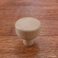 Möbelgriffe  Buche Holz 28 mm Schubladengriff