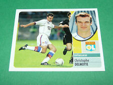 DELMOTTE OLYMPIQUE LYON OL GERLAND PANINI FOOT 2003 FOOTBALL 2002-2003