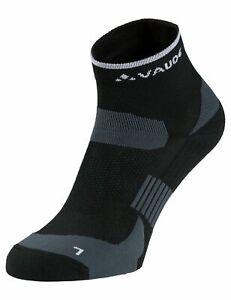 Vaude Bike Socken Bikesocken Bike Socks Short in black Gr:  42 - 44