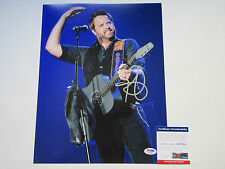 RANDY HOUSER SIGNED 11X14 PHOTO PSA/DNA COA AB78963 HOW COUNTRY FEELS RARE
